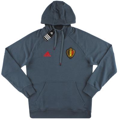 2016-17 Belgium adidas Hooded Sweat Top *BNIB*