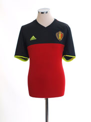 2016-17 Belgium Home Shirt *Mint* L