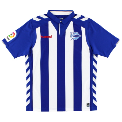 2016-17 Deportivo Alaves Home Shirt