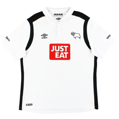 2016-17 Derby County Umbro Home Shirt XL