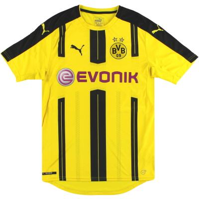 2016-17 Dortmund Puma Home Shirt S