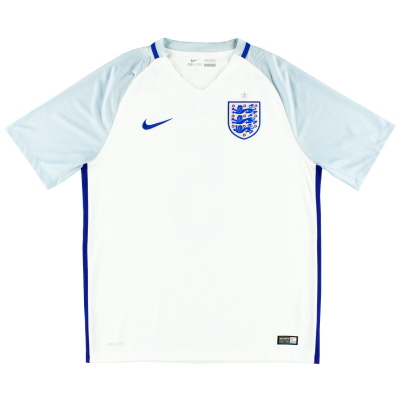 2016-17 England Home Shirt L