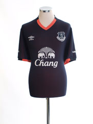 2016-17 Everton Away Shirt *Mint* XL