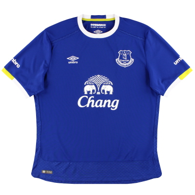 2016-17 Everton Umbro Home Shirt XL