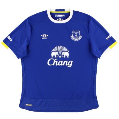 2016-17 Everton Umbro Home Shirt M