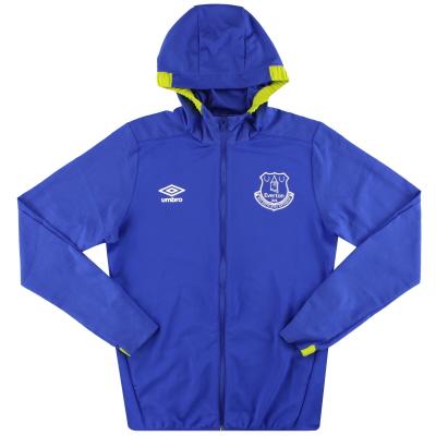 2016-17 Everton Umbro Hooded Rain Jacket *Mint* S