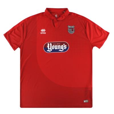 2016-17 Grimsby Town Errea Away Shirt *Mint* 5XL