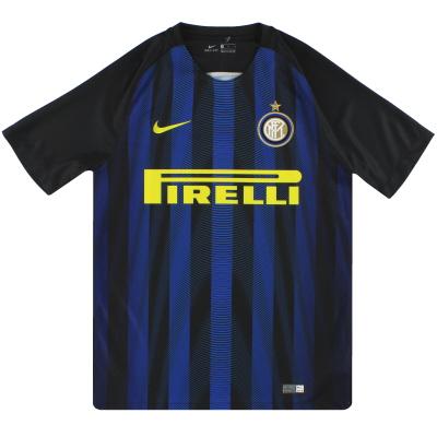 2016-17 Inter Milan Nike Home Shirt M