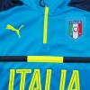 2016-17 Italy 1/4 Zip Light Blue Training Top *BNIB*