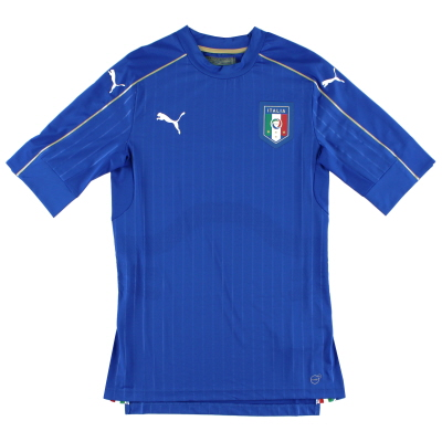 2016-17 Italy Player Issue Authentic Home Shirt *As New* L