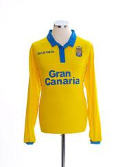 2016-17 Las Palmas Home Shirt L/S *BNIB*