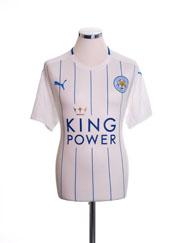 2016-17 Leicester Third Shirt *Mint* XL