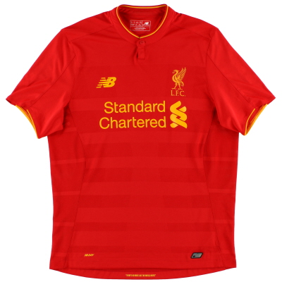 2016-17 Liverpool Home Shirt *Mint* L