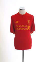 2016-17 Liverpool Home Shirt L