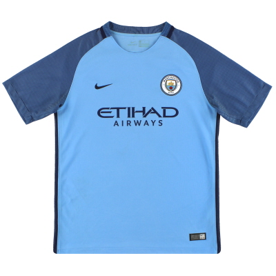 2016-17 Manchester City Nike Home Shirt XL.Boys