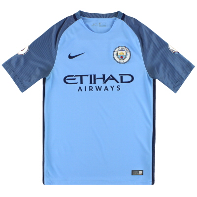 2016-17 Manchester City Nike Home Shirt S