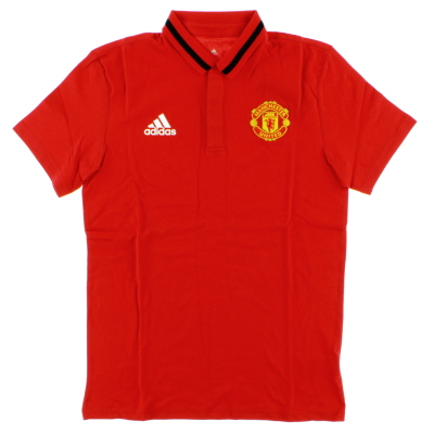 2016-17 Manchester United adidas Anthem Polo T-shirt *BNIB*