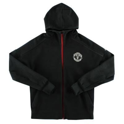2016-17 Manchester United adidas ZNE Hooded Top L