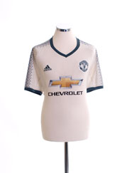 2016-17 Manchester United Third Shirt XL