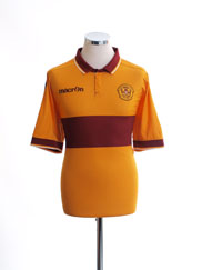 2016-17 Motherwell Home Shirt XL