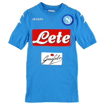 2016-17 Napoli Authentic Home Shirt M/L
