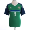 2016-17 Northern Ireland Home Shirt Davis #8 *BNWT* M