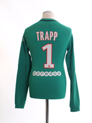2016-17 Paris Saint-Germain Authentic GK Shirt Trapp #1 *Mint* S