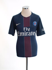 2016-17 Paris Saint-Germain Home Shirt M