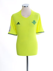 2016-17 Real Betis Adizero Third Shirt XL