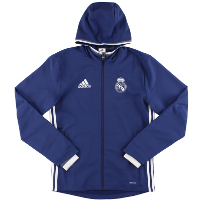 2016-17 Real Madrid adidas Presentation Jacket *Mint* S