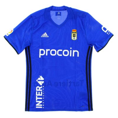 2016-17 Real Oviedo Player Issue Adizero Home Shirt *BNIB*