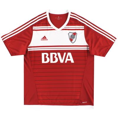 2016-17 River Plate adidas Away Shirt *Mint* XL