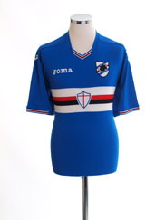 2016-17 Sampdoria Home Shirt *Mint* XL