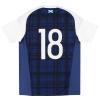 2016-17 Scotland adidas Player Issue Home Shirt #18 L