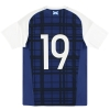 2016-17 Scotland adidas Player Issue Home Shirt #19 M