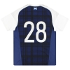 2016-17 Scotland adidas Player Issue Home Shirt #28 M
