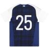 2016-17 Scotland adidas Player Issue Home Shirt #25