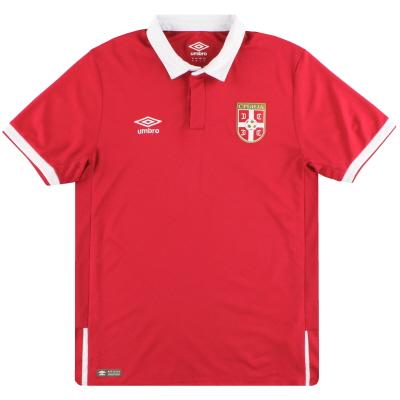 2016-17 Serbia Umbro Home Shirt M