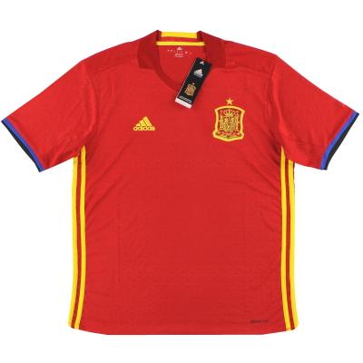 2016-17 Spain Home Shirt *w/tags* S