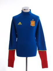 2016-17 Spain Training Top L