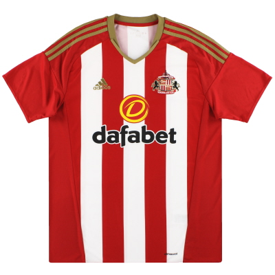 2016-17 Sunderland adidas Home Shirt *Mint* L