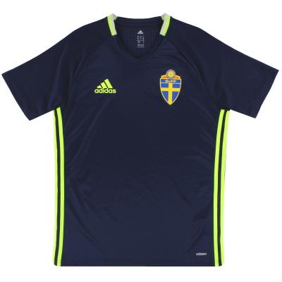 2016-17 Sweden adidas adizero Training Shirt M