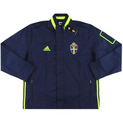 2016-17 Sweden adidas Travel Jacket *BNIB* XXL