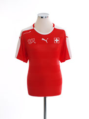 2016-17 Switzerland Home Shirt *Mint* M