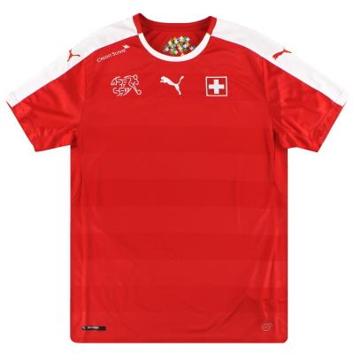2016-17 Switzerland Puma Home Shirt M