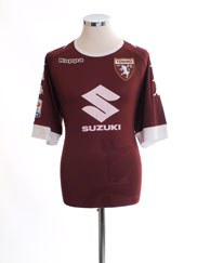 2016-17 Torino '110 Years' Kombat Home Shirt *Mint* XXL