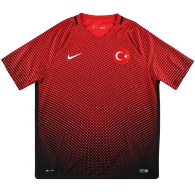 2016-17 Turkey Nike Away Shirt XL