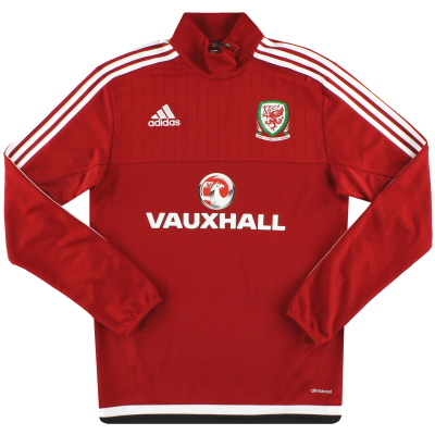 2016-17 Wales adidas Training Top S