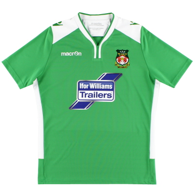 2016-17 Wrexham Macron Away Shirt *Mint* S