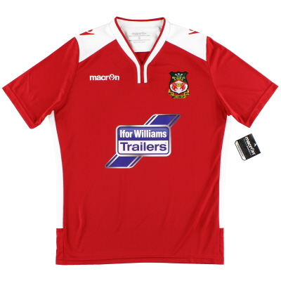 2016-17 Wrexham Macron Home Shirt *w/tags* S